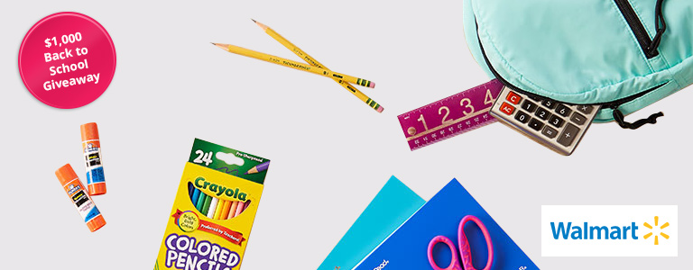 $1,000 Back to School Giveaway