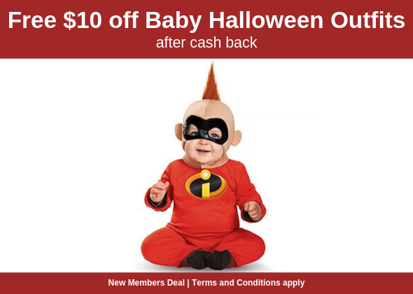$10 OFF Baby Halloween Costumes