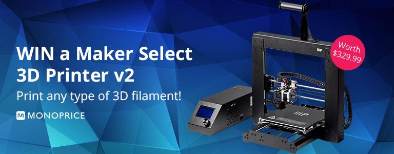 Monoprice 3D Printer Giveaway