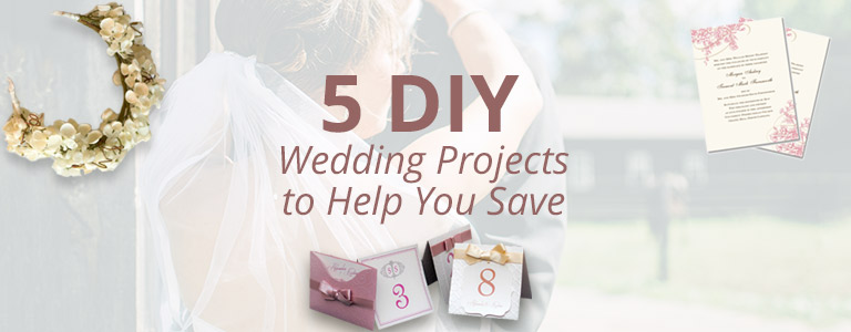 5 Diy Wedding Projects