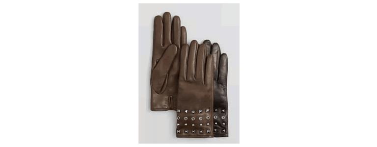 Studded gloves