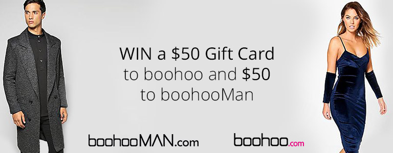 2 boohoo gift cards up for grabs