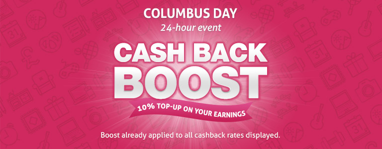 Cash Back Boost Day