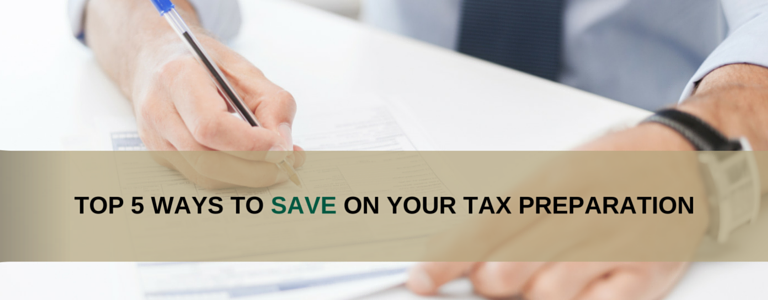 Tax Preparation Savings