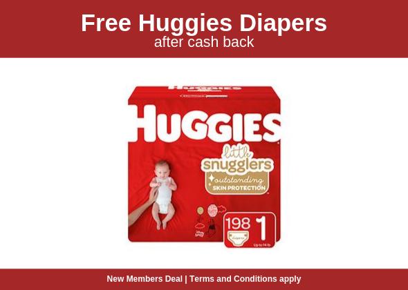 FREE HUGGIES Little Snugglers.