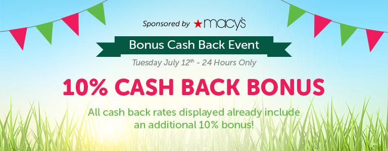 Bonus Cash Back