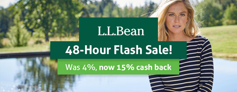 LL Bean Flash Sale