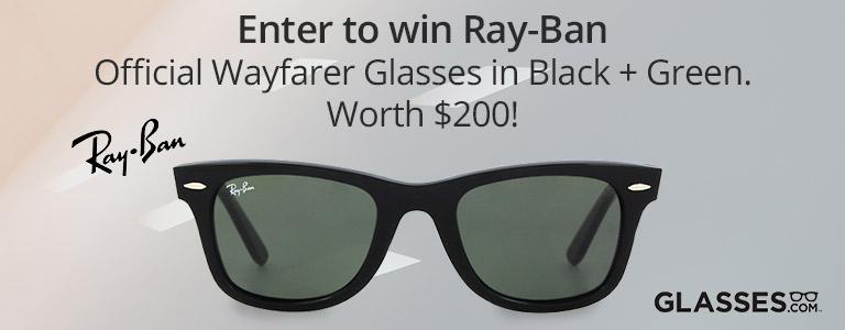 Glasses.com Giveaway on TopCashback