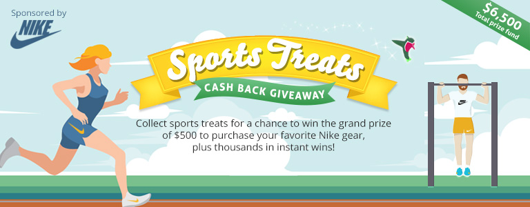 Sports Treats game