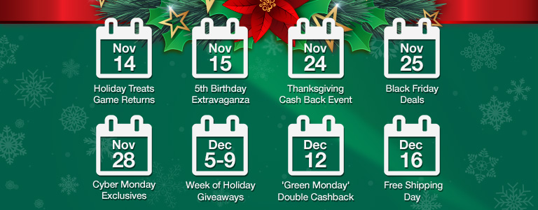 TopCashback Holiday Planner