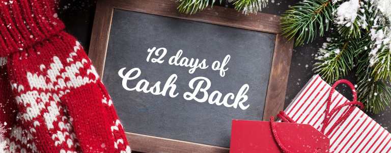 12 Days of Cash Back