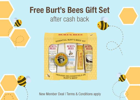 Free Burt's Bees Set