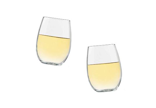 4pc Stemless Wine Glass Set Freebie