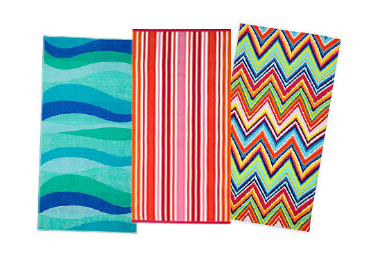 $15 to Spend on Beach Towels at Bed Bath & Beyond Freebie
