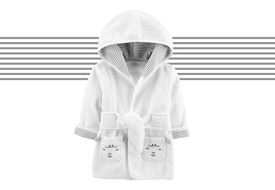 Baby Hooded Robe Freebie