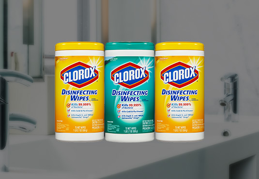 Free 3-Pack Clorox Cleaning Wipes