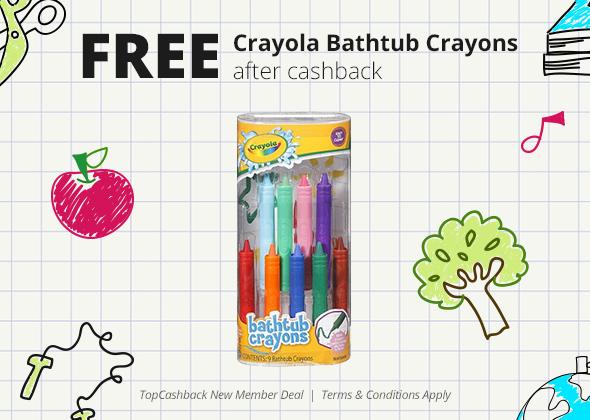 Bathtub Crayons Freebie