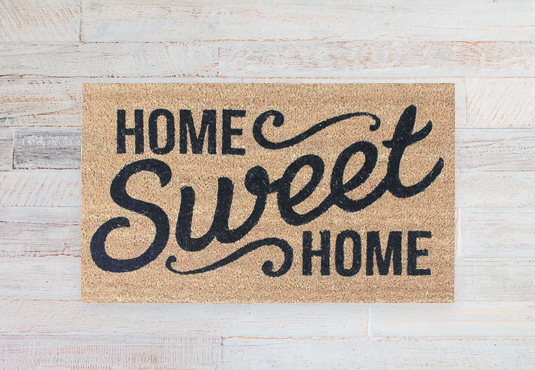 Home Sweet Home Doormat Freebie