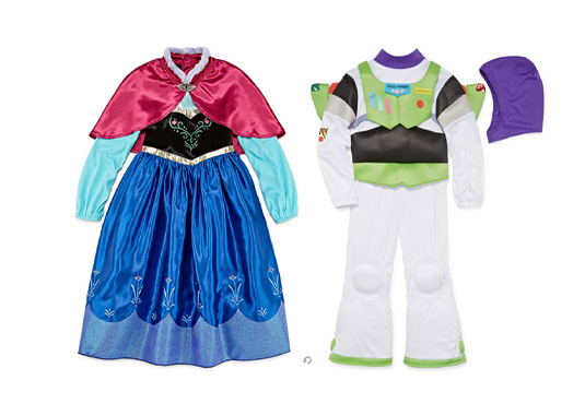 Kids' Halloween Costumes at JCPenney Freebie