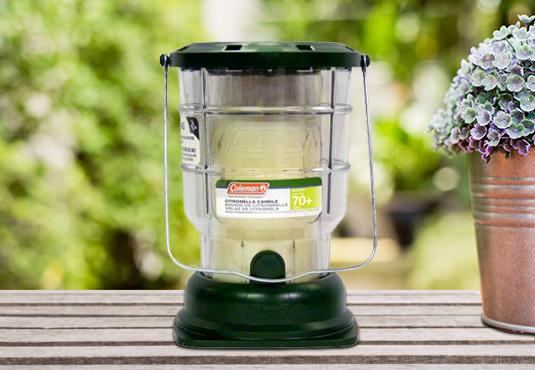 Free Citronella Outdoor Candle Lantern