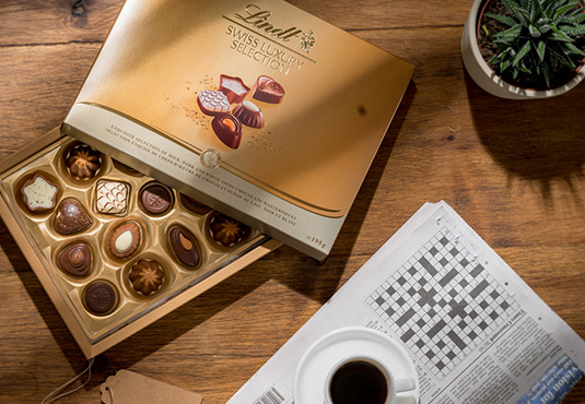 $10 off Lindt Chocolate