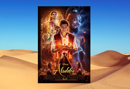 $10 off Aladdin Movie Tickets