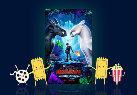 $10 off How to Train Your Dragon Movie Tickets