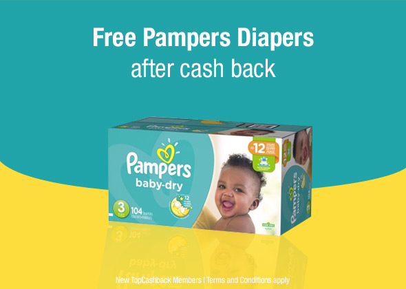 Pampers Baby Dry Diapers Freebie