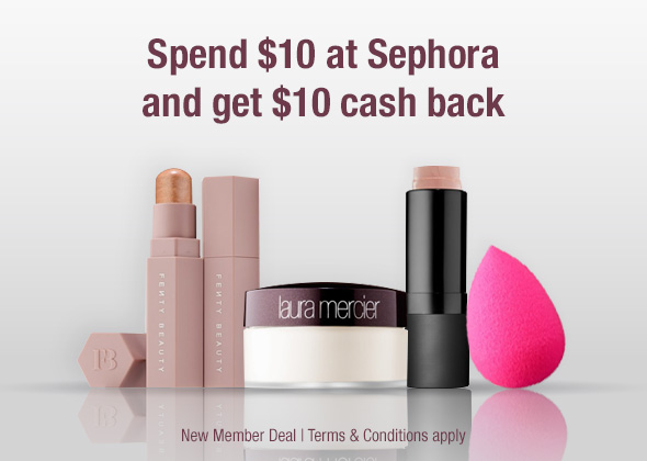 Free $10 to Spend at Sephora