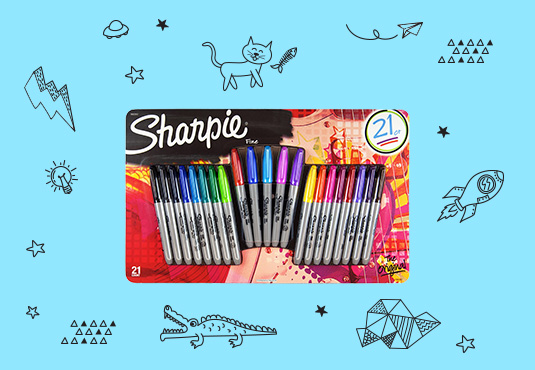 Free 21-Pack of Sharpies