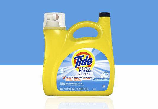 Tide Laundry Detergent Freebie
