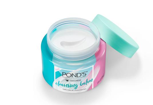 Pond's Cold Cream Cleansing Balm Freebie
