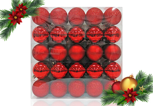 50ct Shatterproof Ornament Set Freebie