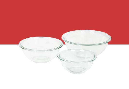 Pyrex 3-Piece Mixing Bowl Set Freebie