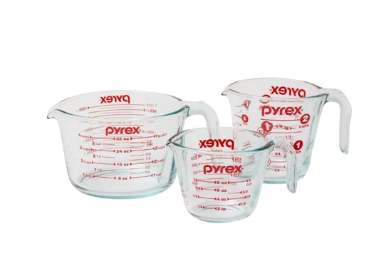 Pyrex Measuring Cup Set Freebie
