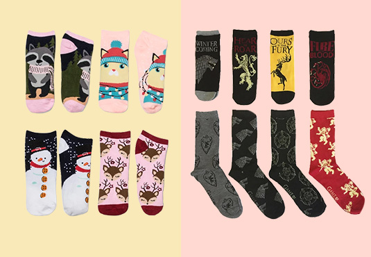 Socks Advent Calendar Freebie