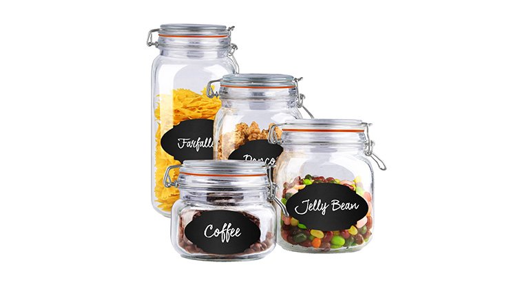 Glass Jar Set Freebie