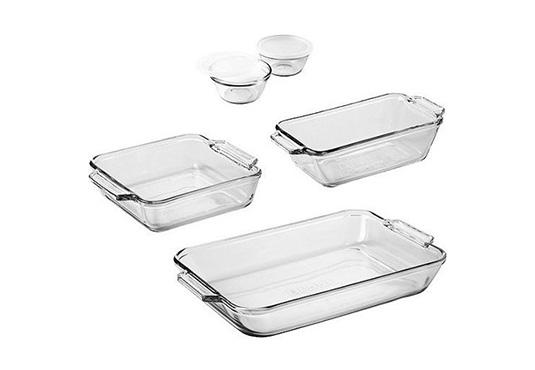 Glass Bakeware Freebie
