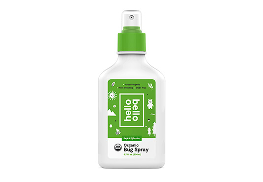 Organic Bug Spray Freebie