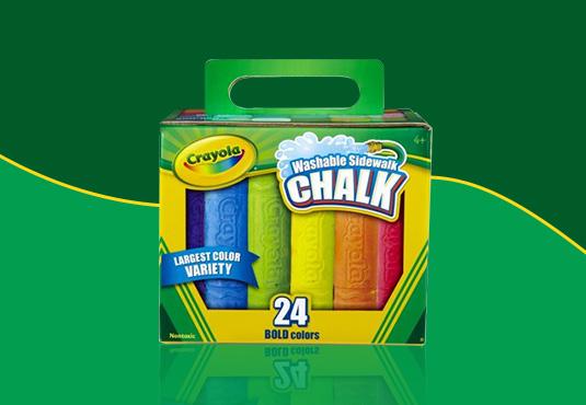 Crayola Sidewalk Chalk Freebie