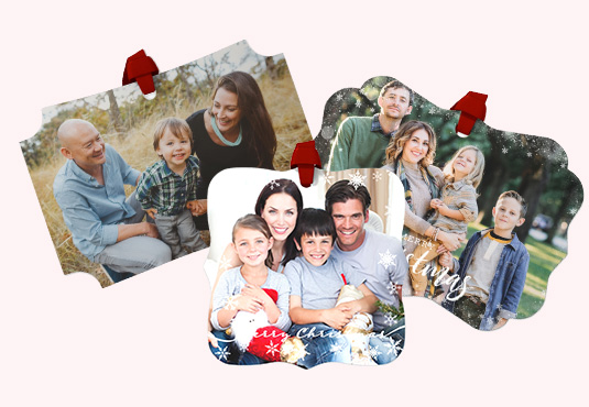 Custom Photo Ornament Freebie