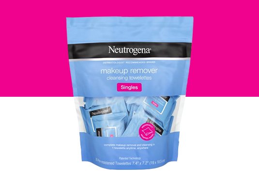 Neutrogena Cleansing Facial Wipes Freebie