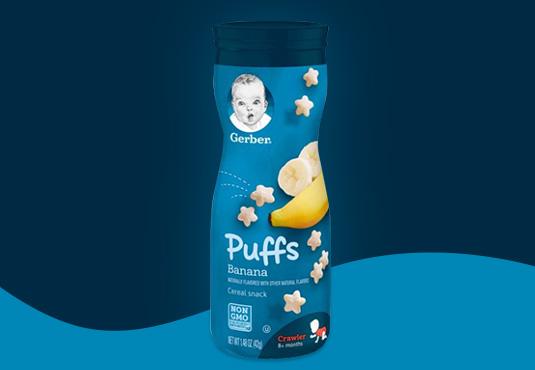 Gerber Baby Food Puffs Freebie