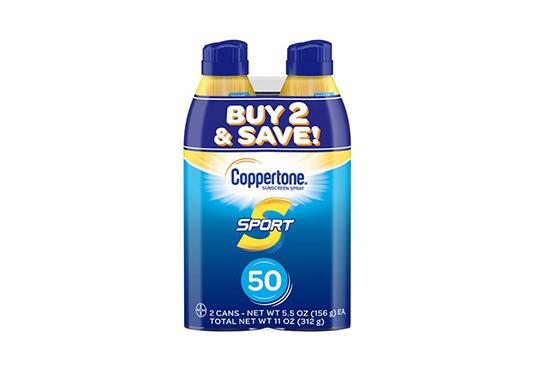 2Pk of Sunscreen Freebie