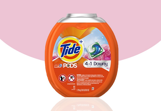 Tide PODS Liquid Detergent Freebie