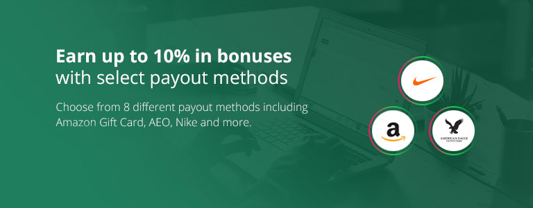 Holiday Bonus Payouts