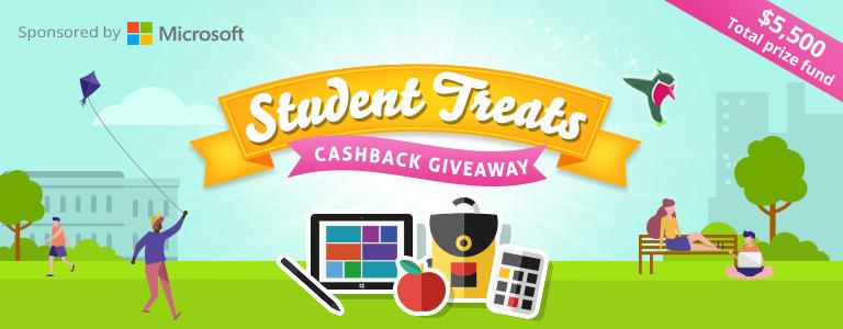 Topcashback sweet treats giveaway sweepstakes