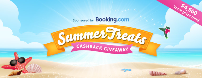 Topcashback xmas treats giveaway sweepstakes