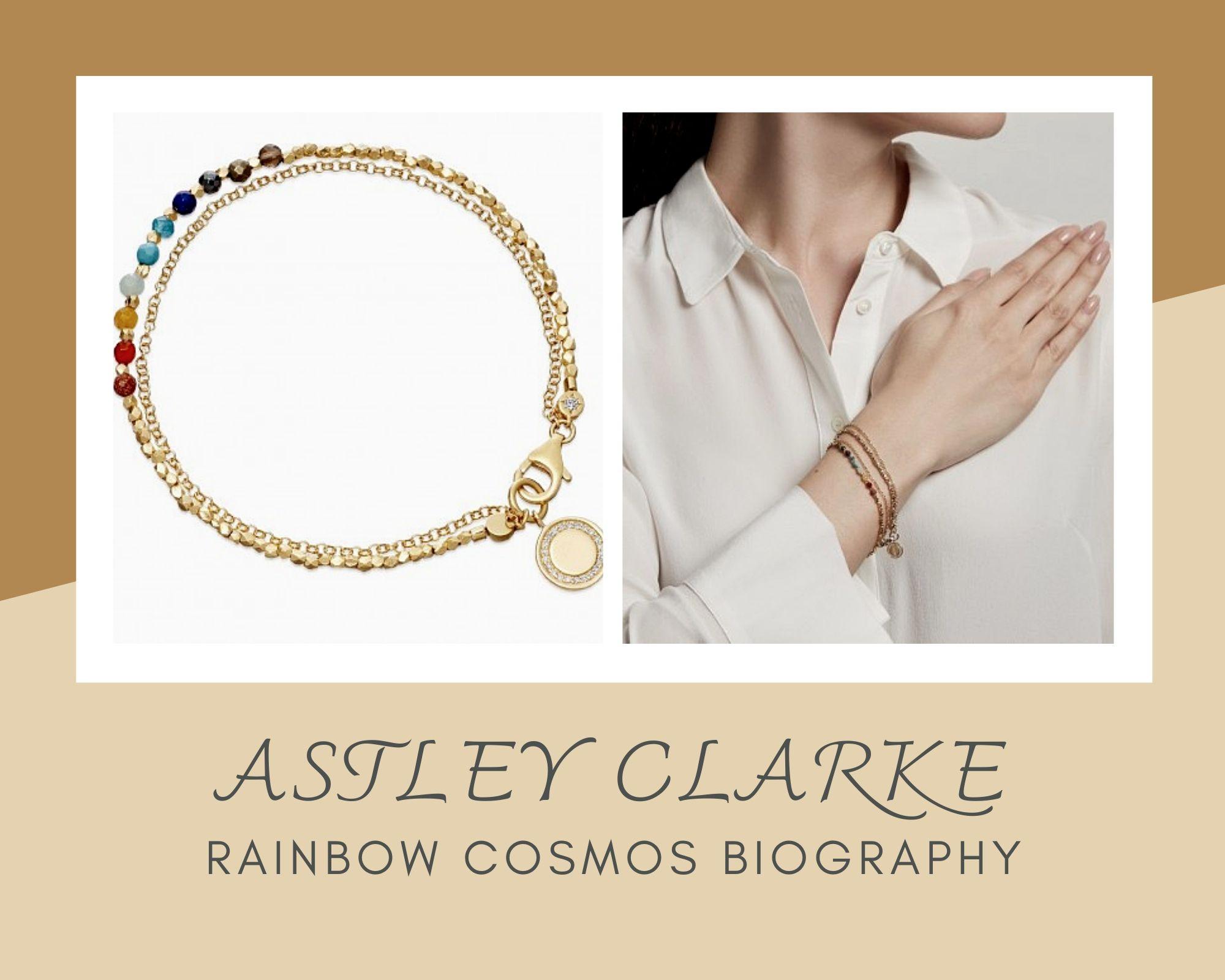 Astley Clarke Biography系列10色彩虹串珠手链