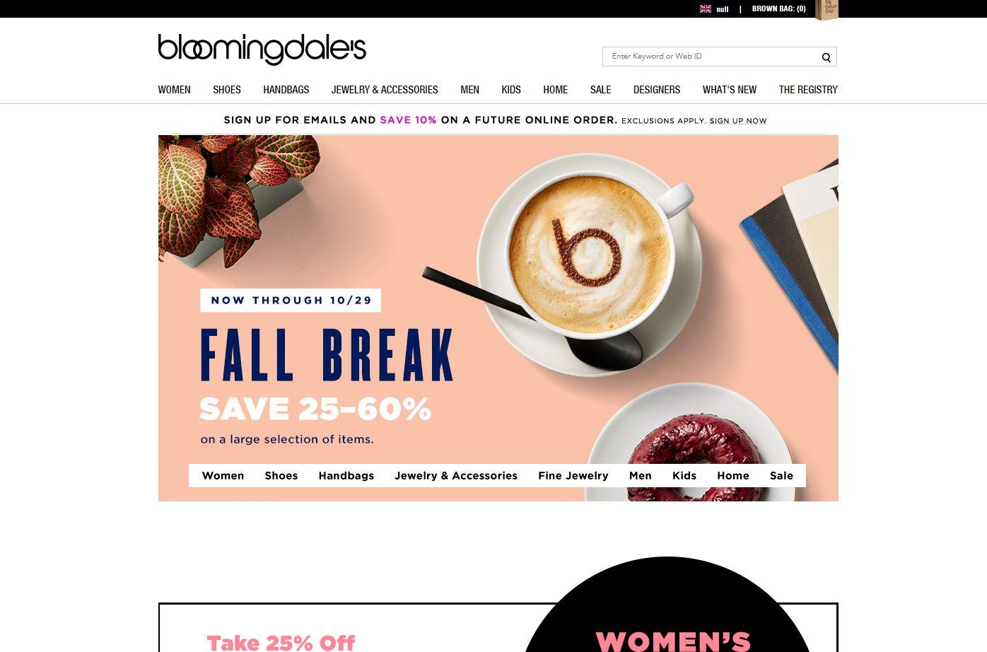 Bloomingdale's官网